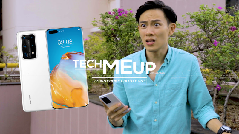 Smartphone Photo Hunt with the Huawei P40 Pro+ #HWZtechmeup Challenge Edition!