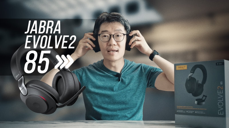 Jabra Evolve2 85 video review: The WFH headset your boss should buy for you