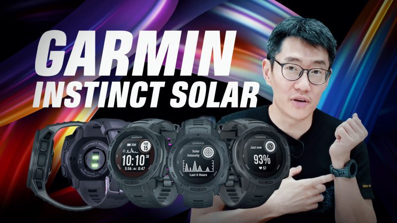 Garmin Instinct Solar video review: One month battery, but worth the cost?