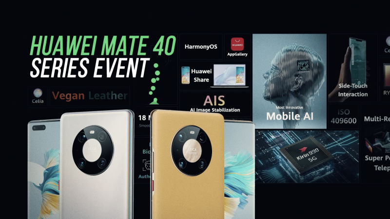 Huawei Mate 40 Series Launch in Under 5 Minutes