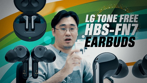 LG Tone Free HBS-FN7 true wireless earbuds: Unboxing & first impressions