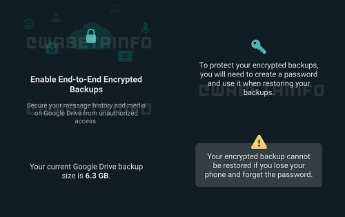 WhatsApp is testing encrypted cloud backups on Android