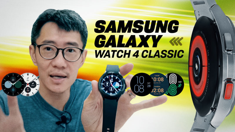 Samsung Galaxy Watch4 In-Depth Video Review: Sensors, Features, Wear OS, Apps