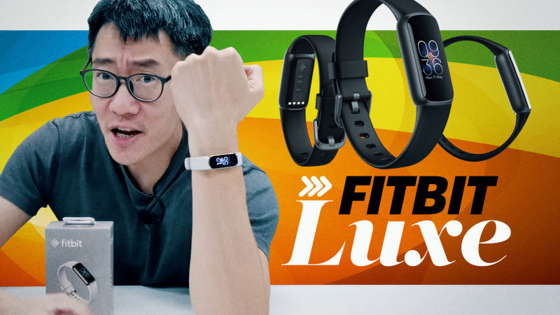 I passed the Fitbit Luxe to my wife and she loves it - A review by proxy