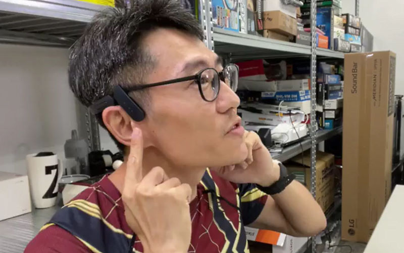 Mu6 Ring Air Conduction Wireless Sport Headphones: An interesting proposition