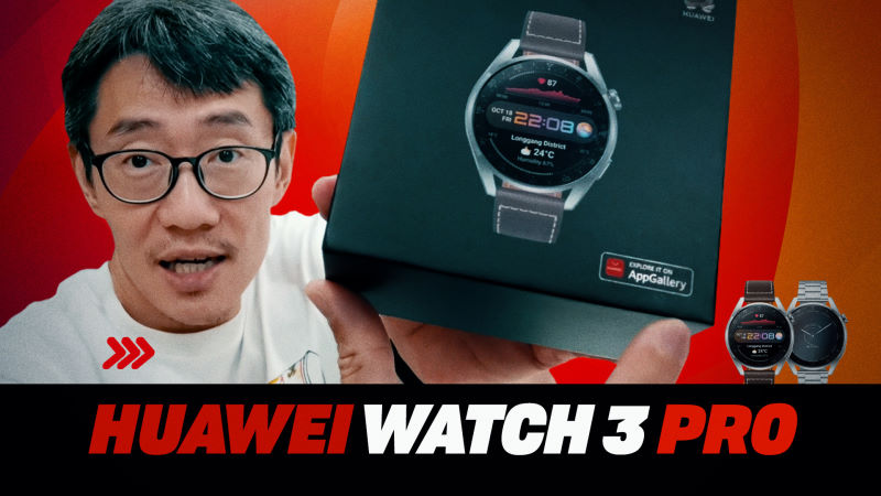 Huawei Watch 3 Pro video review: Strava linkage finally, but still waiting on HarmonyOS smarts