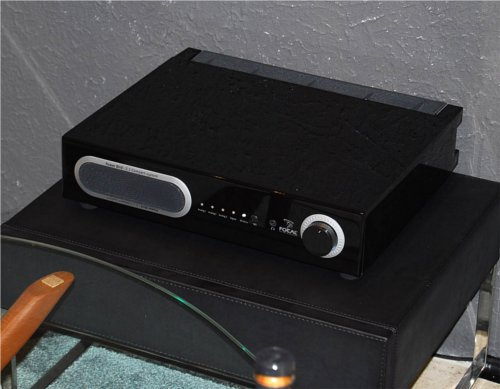 The Power Bird is an amplifier, digital to analog converter and sub-woofer all packed in one.