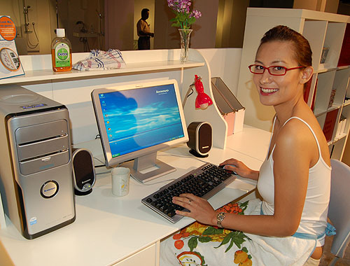 Positioned for the mainstream home segment of the market, the H Series desktops features an anti-bacterial keyboard and One Key Recovery. The H Series will be made available at S$1,099.