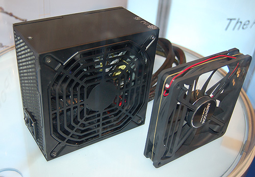 Andyson is implementing 15cm fans on selected PSUs for better cooling efficiency.