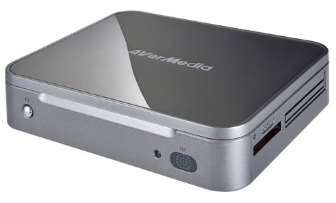 The AVerLife HD Studio is a small 1080p network media player.