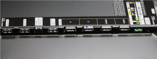 Three USB ports mean that you will be able to connect and dock a whole host of products to your TV at the same time without hassle. Also visible are the four HDMI slots. While the positioning of the jacks is good if you intend to wall mount your TV, they are a bit inaccessible if your screen is placed near a wall.
