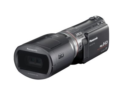 The Panasonic HDC-SDT750 is a consumer-based HD camcorder that can shoot 3D with an interchangeable 3D conversion lens.