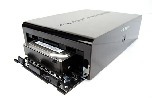 The EZ Drive slot made it really easy to install a 3.5-inch hard drive.