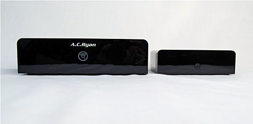 The Playon! HD 2 on the left and the Playon! HD Mini 2 on the right