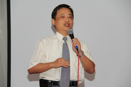 Albert Chang, Senior Director, OBM Product Marketing Division, Edimax Technology Co Ltd was also at the event and gave a quick welcome speech