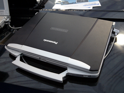 Besides churning out polished notebooks such as the 14-inch CF-F9, Panasonic has been busy rubbing shoulders with Intel which gave rise to the Dynamic Power Performance Management Technology found in the new Toughbooks. Essentially, it reduces the notebook's heat signature while ensuring that overall performance isn't compromised.