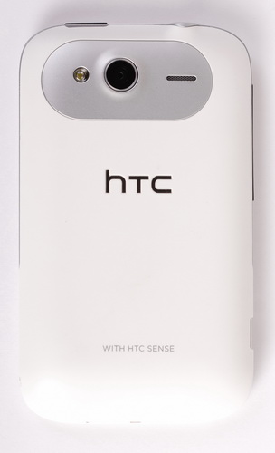 The HTC Wildfire S features a 5-megapixel camera with LED flash and can record VGA video at 24fps.