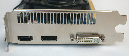 All the display outputs that you would need - DisplayPort 1.2, HDMI 1.4a and a dual-link DVI output.