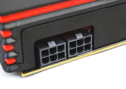 Two 6-pin PCIe connectors are required to power this new card and AMD recommends a PSU rated for at least 500W.