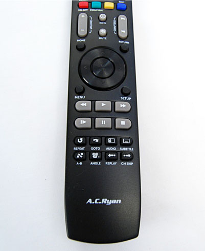 The useful buttons on the remote that we wished some other remotes had.