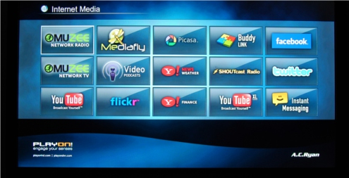Every media player seems to include these, but we doubt any of you will be spending serious time on them.