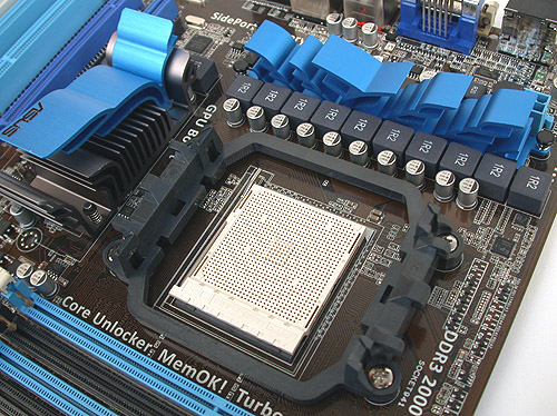 The passive heatsinks are quite understated but the edges of the fins can be quite sharp.