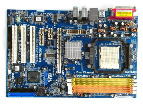 The ASRock AM2V890-VSTA motherboard.