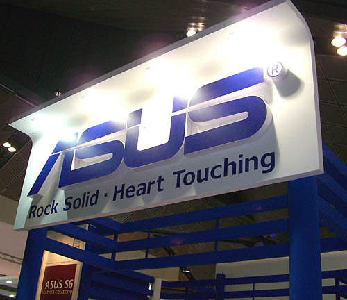 As usual, ASUS has a considerable presence and with a motto like that, you can rest easy that your ASUS products will last the distance.