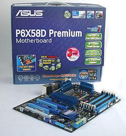 The ASUS P6X58D Premium
