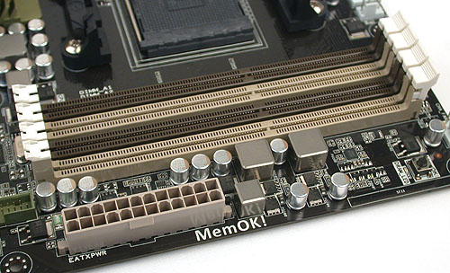 One of the few changes that we noticed with AMD's latest chipset is that it now officially supports up to DDR3 1866, though 32GB of RAM remains the maximum and it's still a dual-channel memory architecture by virtue of the CPU limitation.