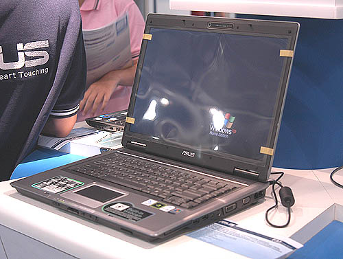 A desktop replacement notebook more than capable of handling all the latest games, the ASUS F3J is equipped with NVIDIA's GeForce GO 7600 with 512MB of dedicated memory. Also included is 1.5GB of system memory at an attractive price of $2898.