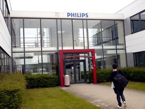 Philips Consumer Lifestyle has many research facilities scattered across the globe, but here in Leuven, their Advance Technology Lab is where the Dutch company makes progress in research and development in new acoustical technologies for their breed of audio products.