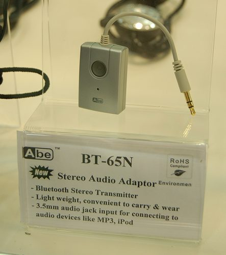 Specially designed to free existing owners from wired earphones/headphones is the BT-65N stereo audio adaptor. As you would have probably guessed by now, a Bluetooth stereo headphone is necessary to complete the wireless audio configuration.