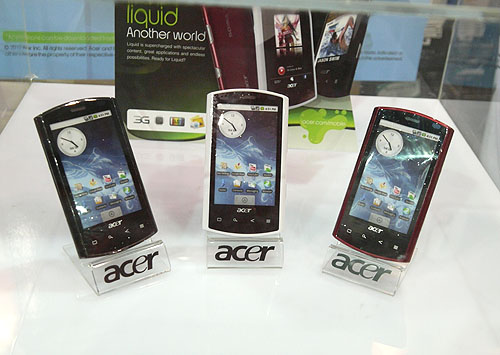If you're still tied under a contract with a telco and longing for the Acer Liquid Android smartphone, it's available directly from Acer for $599 ($640.93 with GST) at the PC Show. Free gifts worth up to $227 are thrown in as sweetener, including a bluetooth headset and a 16GB microSD card.