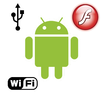 The Android Froyo update includes Flash 10.1 support, internet tethering and Wi-Fi hotspots.