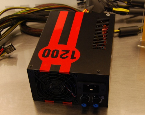 The OC edition of Antec's 1200W TruePower Quattro PSU comes with adjustable voltage and fan controls.