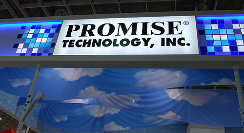 Promise Technology had both corporate and consumer solutions, though the corporate stuff heavily outweighed the few consumer storage products.