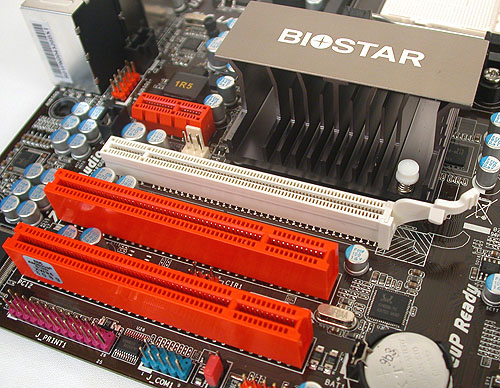 A single PCIe 2.0 x16 slot along with one PCIe x1 and two PCI slots are the expansion options.