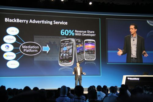 The BlackBerry Advertising Service now has the support of five ad channel networks and will see many more rich, media ones joining in. The service platform allows developers to embed ads into their apps with just three lines of code, and they earn 60 percent of the revenue for every app downloaded by users.
