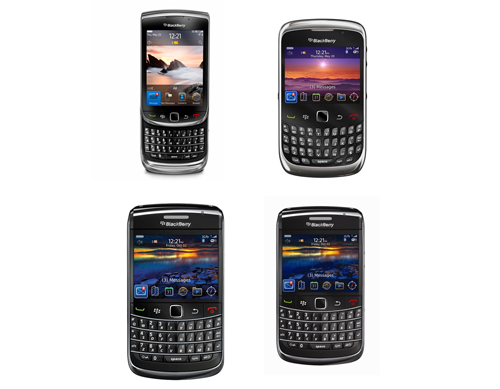 Besides the new BlackBerry Torch 9800 and Curvel 3G, older devices such as the BlackBerry Bold 9700 and Bold 9650 will also get the OS 6 update when it's available.