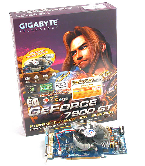 The typical Gigabyte packaging but with the addition of a blurb touting the merits of the Zalman cooler, sentiments that we agree on mostly.