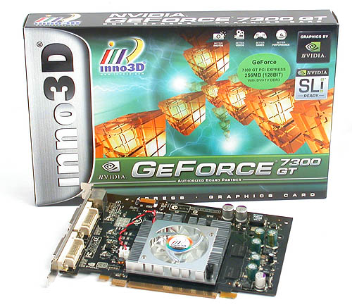 Whether it's being environmentally conscious or just a matter of lowering production cost, mainstream graphics cards like the GeForce 7300 GT usually have rather modest packaging.