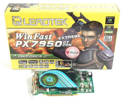 Leadtek's Extreme line of graphics cards have all featured exciting overclocks and its GeForce 7950 GT is no different.