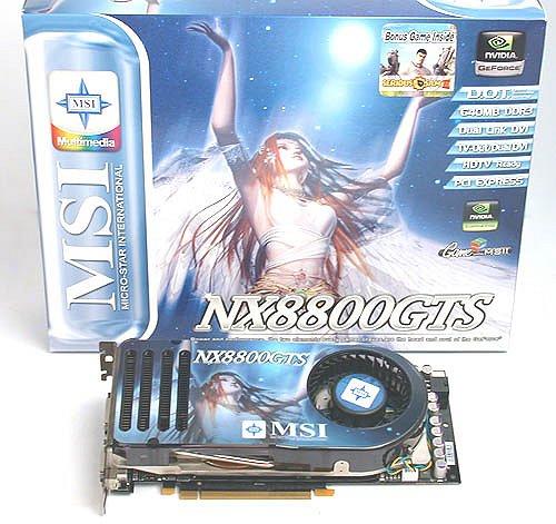 MSI NX8800GTS 64BIT DRIVER