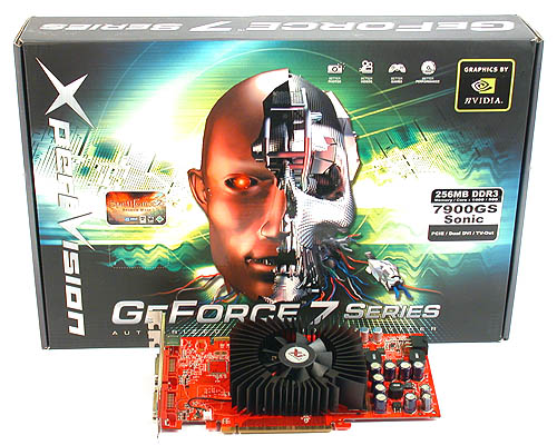 XpertVision's GeForce 7900GS Sonic seems like a modestly overclocked card on paper but knowing XpertVision, you can expect some surprises.