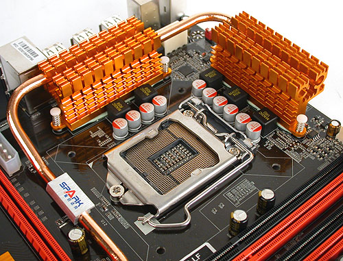 Even a budget P55 motherboard like the Jetway is going for solid capacitors nowadays, at least for the power delivery components around the CPU socket.