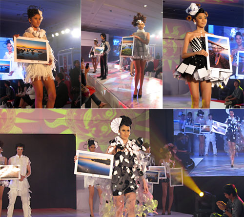 Who says office printers have to be boring? Certainly not Canon, who introduced its new lineup of business imaging solutions in a distinctly lifestyle-themed event, which even included a fashion show featuring the works of Gerry Katigbak – and of course, sample printouts showcasing the capabilities of Canon's new devices.