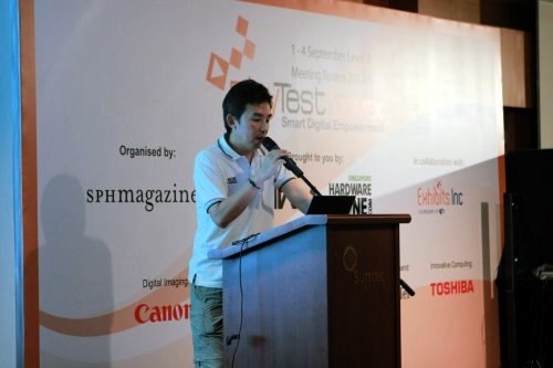 Budding photographers should catch the Digital Imaging seminar for quick tips from the pros. You can also check out the Canon Imaging Academy booth for more information about digital photography courses.