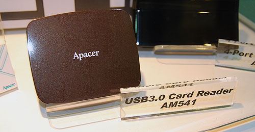 Even card readers are going USB 3.0. We are definitely way behind the trend...