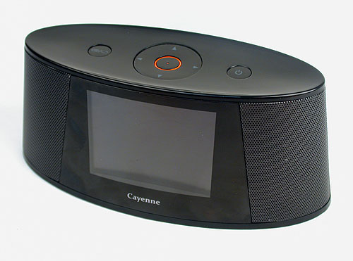 It's not exactly our idea of a 'portable media player'. Radio/alarm clock would be more like it.